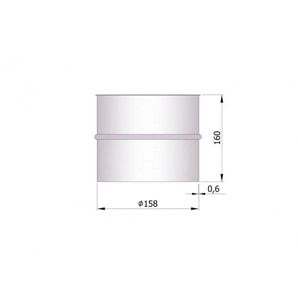 Murbøsningn  indv. Ø158mm (længde 160 mm)
