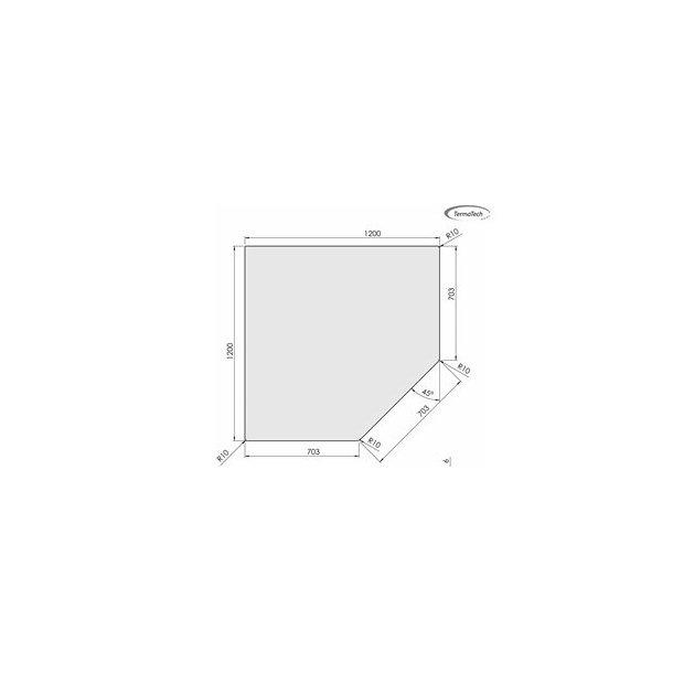 Femkantet - 1200x1200 mm