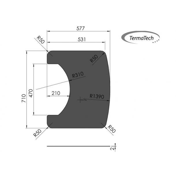 Formgulvplade i stål til TT20+TT21