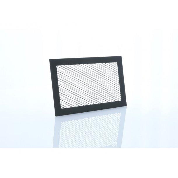 Ventilationsrist med net til montering i murværk eller plade 268x170mm