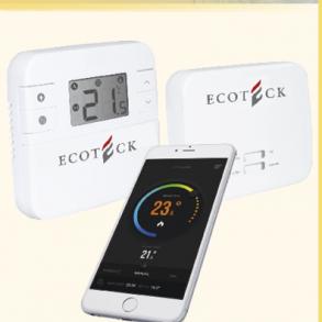 Ecoteck tråløs wifi-termostat
