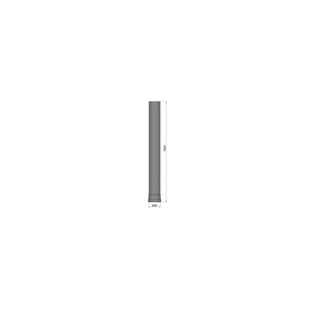 Lige rør Ø 80 mm