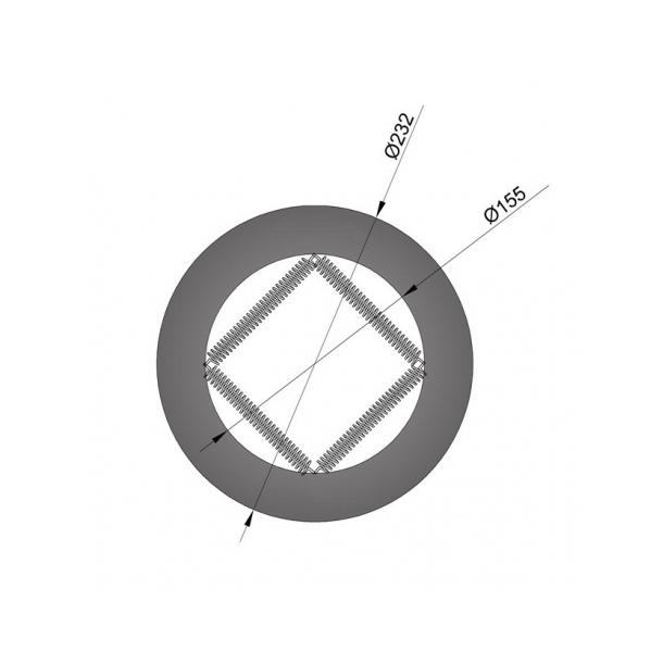 Pyntering Ø 150 mm - med fjeder