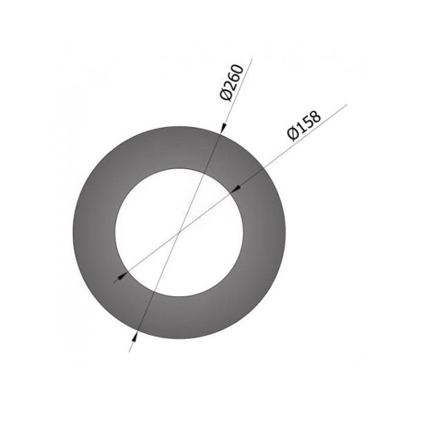 Pyntering Ø 150 mm/50mm